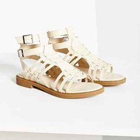 Silence + Noise Michelle Gladiator Sandal - Urban Outfitters