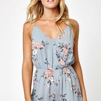 LA Hearts Surplice Tank Romper at PacSun.com