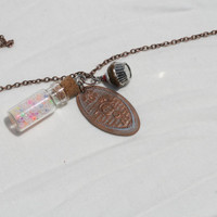 Disney Wreck-It Ralph Inspired Vanellope Penny Necklace