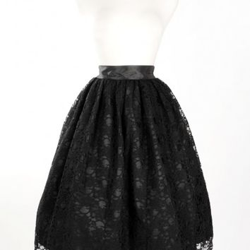 Francesca Skirt in Black