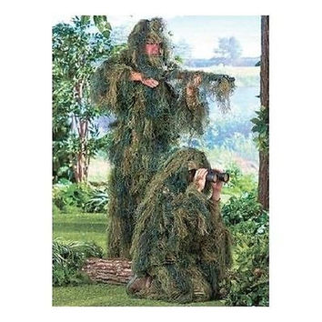 Ghillie Suit Camouflage Realistic 3D Lightweight Hunting Deer Gilly Gillie NEW