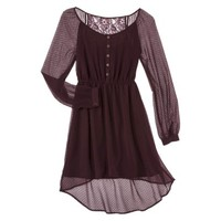 Xhilaration® Junior's Lace Dress - Assorted Colors