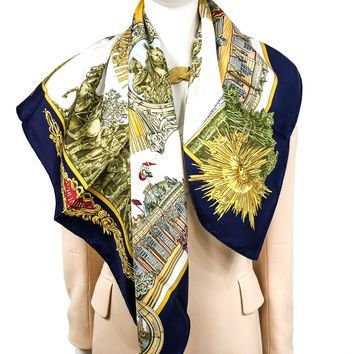 Voltaire or Sanssoucy Hermes Silk Scarf Special Issue NIB
