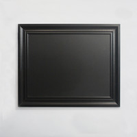 "Linon 24""x30"" Chalkboard with Black Frame"
