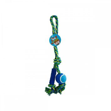 22in Dog Ball Rope Toy OC433