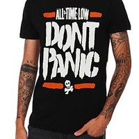 All Time Low Don't Panic Slim-Fit T-Shirt - 924859