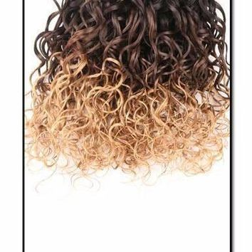 Water Wave Ombre Human Hair Bundle