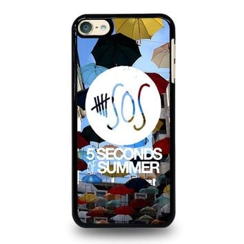5 SECONDS OF SUMMER 4 5SOS iPod Touch 6 Case Cover