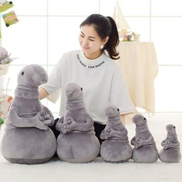 New Hot Waiting Plush Toy Zhdun Meme Tubby Gray Blob Zhdun Plush Doll Toys Homunculus Loxodontus