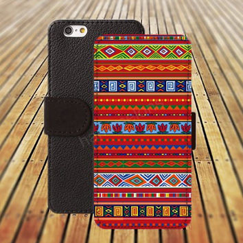 iphone 5 5s case Indian style flowers iphone 4/4s iPhone 6 6 Plus iphone 5C Wallet Case,iPhone 5 Case,Cover,Cases colorful pattern L206