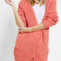 Urban Outfitters - Sparkle & Fade Boyfriend Snap-Front Cardigan