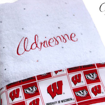 Personalized College Towel