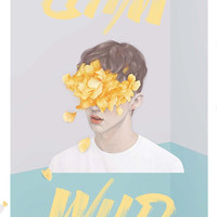 Troye Sivan Wild Poster #4 by Laura Scronce