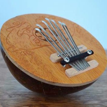 Coconut Carved Karimba