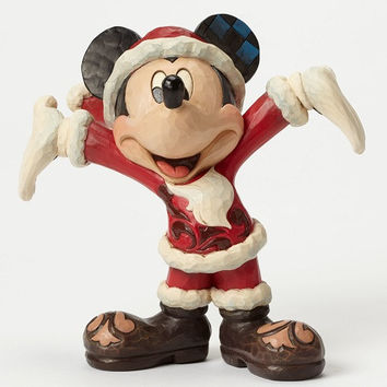 Christmas Cheer-Santa Mickey-Disney Showcase Collection