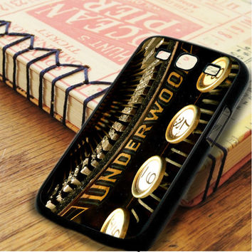 Vintage Underwood Typewriters Samsung Galaxy S3 Case