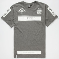 Lrg Luminaries Mens Tall Tee Charcoal  In Sizes