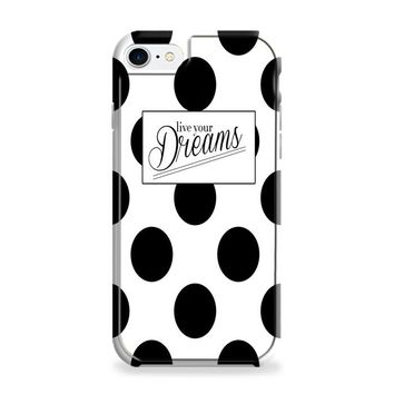 Kate Spade Live Your Dreams Polka Dots iPhone 6 Plus | iPhone 6S Plus Case