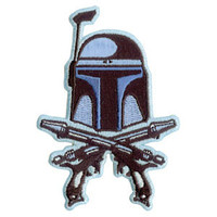 Star Wars Men's Embroidered Patch Blue