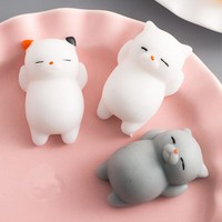 1 Pc Cute Cat quishy Soft Antistress/Decompression Squeeze Toys 26 Styles