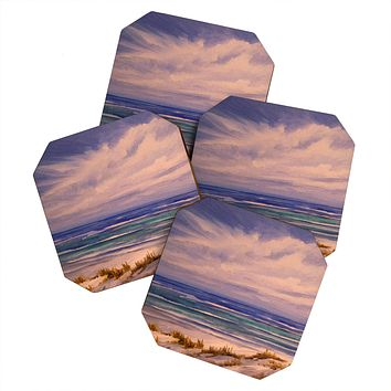 Rosie Brown Seascape 1 Coaster Set