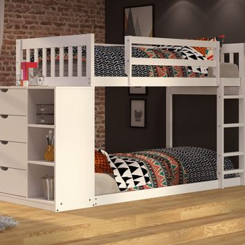 Sadie White Bunk Bed