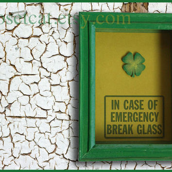 St Patricks Day Gift Emergency Case Box of Luck by ClosetCat