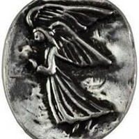 Angel pocket stone