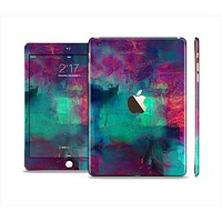 The Abstract Oil Painting V3 Full Body Skin Set for the Apple iPad Mini 3