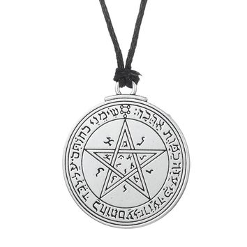 my shape Talisman Venus Solomon Seal Pendant wiccan pentacle love necklace