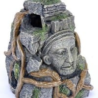"Cambodian Rock Face 5"" Ornament Deco Replica"