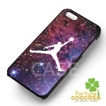 Air Jordan on space - 21zzzz for iPhone 5SE case