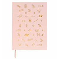 Rifle Paper Co. Blush Address Book and Keepsake Organizer