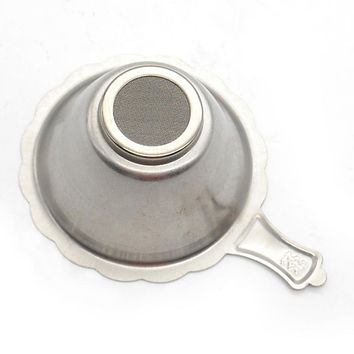 Tea Infuser Strainer with Fine Mesh for Teapot Tea set Coffee&Tea tools for Brewing Tea Leaf Spice Filter