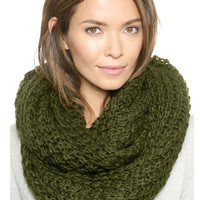 Green Knitted Snood
