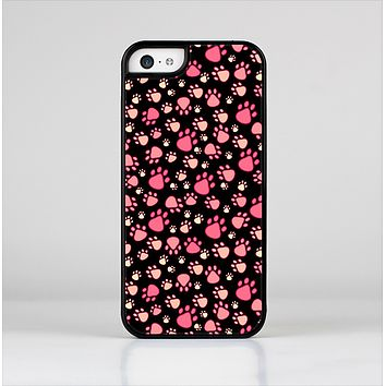 The Cut Pink Paw Prints Skin-Sert Case for the Apple iPhone 5c