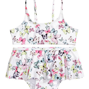 Bikini with Butterfly Pattern - from H&M