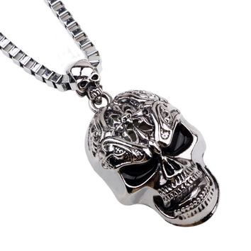 Men Skull 47 Chain Necklaces