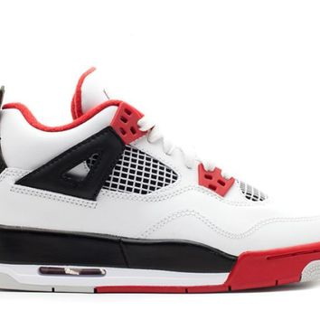 Air Jordan 4 Retro Fire Red 2012 GS