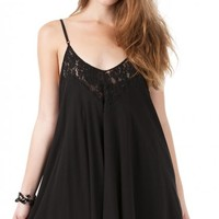 ANGL | Romantic Hint of Lace Dress - DRESSES