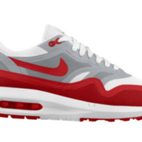 Nike Air Max Lunar1 iD Custom Boys' Shoes 3.5y-6y - Red