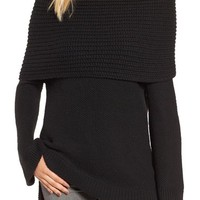 Sun & Shadow Cowl Off the Shoulder Sweater | Nordstrom