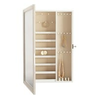 Heirloom Jewelry Wall Safe, Vanity Mirror