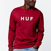 HUF OG Logo Crew Fleece at PacSun.com