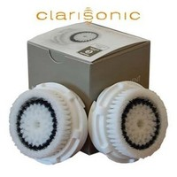 2 Clarisonic Skin Cleansing Sensitive Brush Heads Twin Pack Retail Box Replacement Brush Heads - Sensitive Skin 2 Single Pack Brand New in Original Retail Box