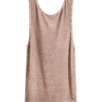 H&M Draped Tank Top $24.95