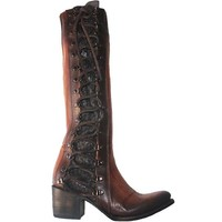 Freebird Wyatt - Cognac Leather Tall Boot