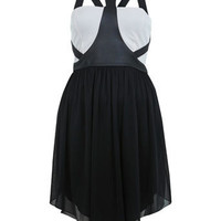 Harness Strap Dress - Dresses  - Clothing