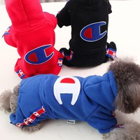 DOGS Clothes CHAMPION Hoodies