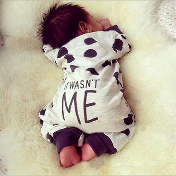 Rompers Clothing Children Newborn Toddler Infant Baby Boy Girl Cute Letter Romper Jumpsuit Clothes Outfits Spring Summer 0-24M